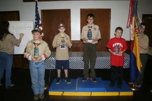 Winners of the Webelos Division